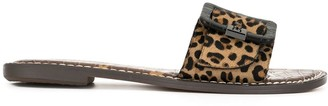 Sam Edelman Granada leopard-print slides