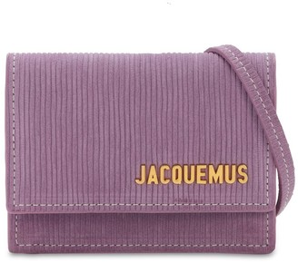 Jacquemus Le Bello Suede Corduroy Bag