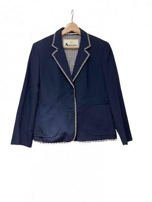 Aquascutum London Navy Cotton Jacket for Women