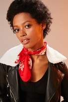 Urban Outfitters Western Silky Mini Square Scarf