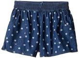 Splendid Littles Printed Denim Shorts Girl's Shorts