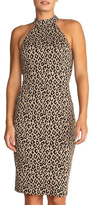 Trina Turk Emotion Leopard Print Dress