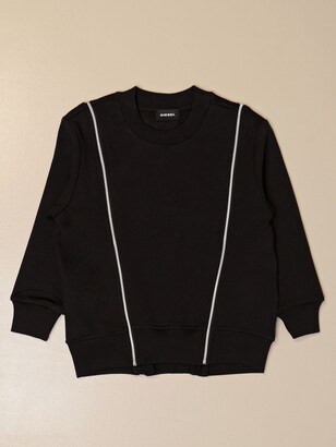 Diesel Crewneck Sweatshirt In Cotton