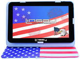"Linsay LINSAY 10.1"" Quad-Core 2GB RAM 16GB Android 9.0 Pie Tablet with USA Style Standing Case, One Size , Black"