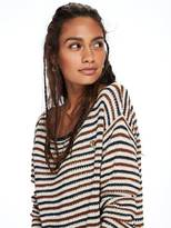 Scotch & Soda Striped Crochet Pullover