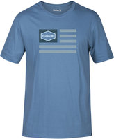 Hurley Men's Homeland Premium Graphic-Print Logo Cotton T-Shirt