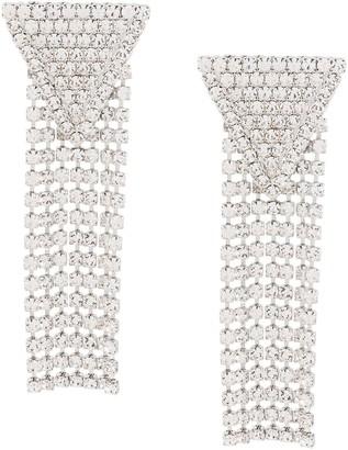 Alessandra Rich Large Chandelier Earrings