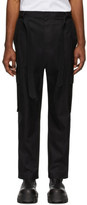 Juun.J Black Cotton Cargo Pants