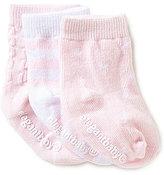 Elegant Baby Newborn-12 Months 3-Pack Solid & Tonal Socks