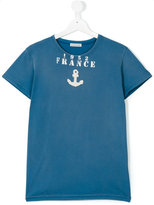 Moncler teen Anchor print T-shirt