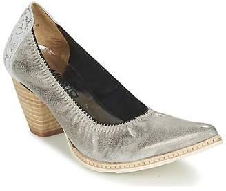 Myma DELRIA women's Heels in Silver