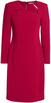 Alice + Olivia Scottie Cutout Crepe Dress