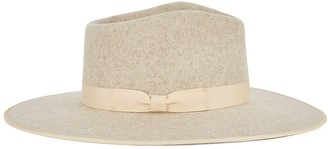 LACK OF COLOR Carlo Rancher stone wool felt fedora