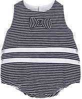 Isabel Garreton Infants' Striped-Inset Textured Romper