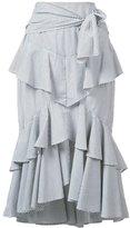 Rebecca Vallance The Parker Frill skirt - women - Cotton - 6