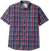 Quiksilver Everyday Check Short Sleeve Shirt Boy's Short Sleeve Button Up