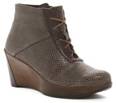 Naot Footwear Nadine Tres Jolie Snake Embossed Wedge Boot