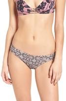 O'Neill Women's Luna Print Cheeky Bikini Bottoms