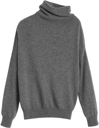 Cuyana Cashmere Asymmetrical Turtleneck Sweater