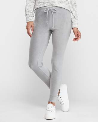 Express High Waisted Cozy Lightweight Fleece Leggings