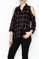 Generation Love Maisie Plaid Top