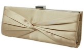 Sasha Pleated Criss Cross Clutch