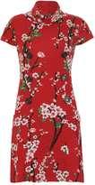 Izabel London **Izabel London Multi Red Shift Dress