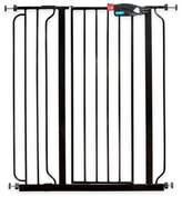 Regalo Easy-Step Extra-Tall Walk-Through Gate in Black