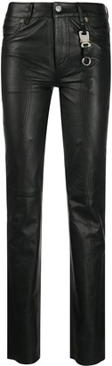 Alyx Fitted Leather Trousers