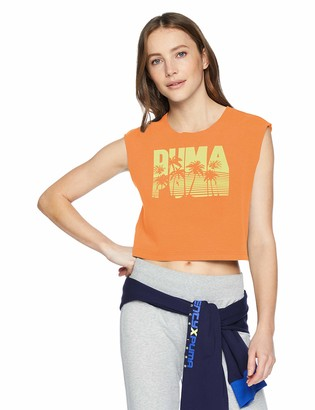 Puma Women's Fenty Sleeveless Crop TOP