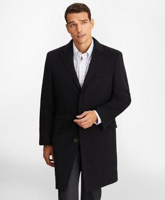 Brooks Brothers BrooksStorm Westbury Cashmere Overcoat