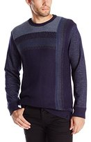Calvin Klein Jeans Men's Vertical Ombre Crew Sweater