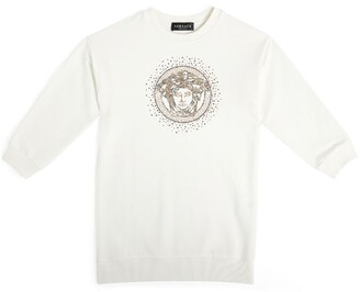 Versace Diamante Medusa Sweatshirt Dress (4-14 Years)