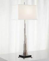Global Views Metropolis Table Lamp - Nickel