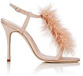 Manolo Blahnik Women's Eila Sandals-BEIGE
