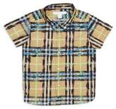 Burberry Baby's & Toddler's Sketched Plaid Shirt