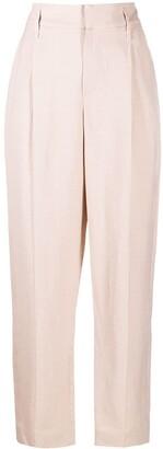 Brunello Cucinelli High-Waist Trousers