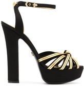 Dolce & Gabbana strappy 140mm sandals