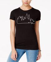 Roxy Juniors' Single Line NYC Graphic T-Shirt