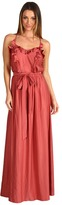 Rebecca Taylor Strappy Back Gown (Rose) - Apparel