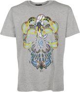 Etro Grey Skull Print T-shirt