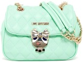 Love Moschino Quilted Buckle Convertible Crossbody