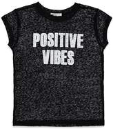 Forever 21 Girls Positive Vibes Tee (Kids)