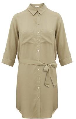 Heidi Klein Venice Belted Shirt Dress - Khaki