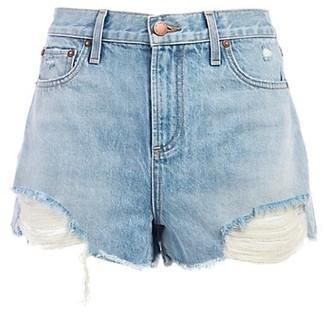 Alice + Olivia Jeans Amazing High-Rise Denim Shorts