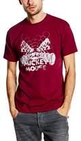 Disney Men's Mickey Mouse Mirrored T-Shirt