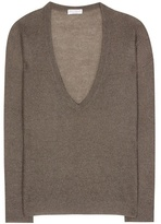 Brunello Cucinelli V-neck knitted sweater
