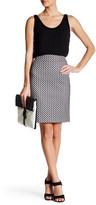 Nine West Bonded Lace Pencil Skirt