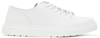 Dr. Martens White Leather Dante Sneakers