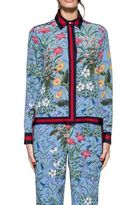 Gucci Celestial New Flora Silk Shirt